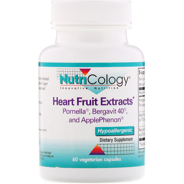 Heart Fruit Extracts, 60 Vegetarian Capsules