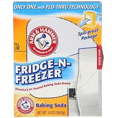 Arm & Hammer, Fridge-N-Freezer صودا الخبز، 14 أوقية (396،8 غرام)