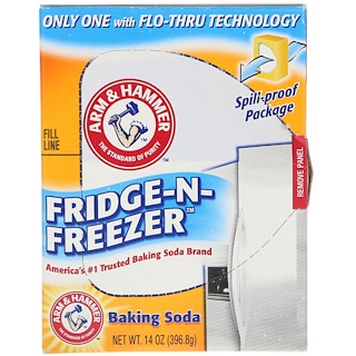 Arm & Hammer, Fridge-N-Freezer Baking Soda, 14 oz (396.8 g)