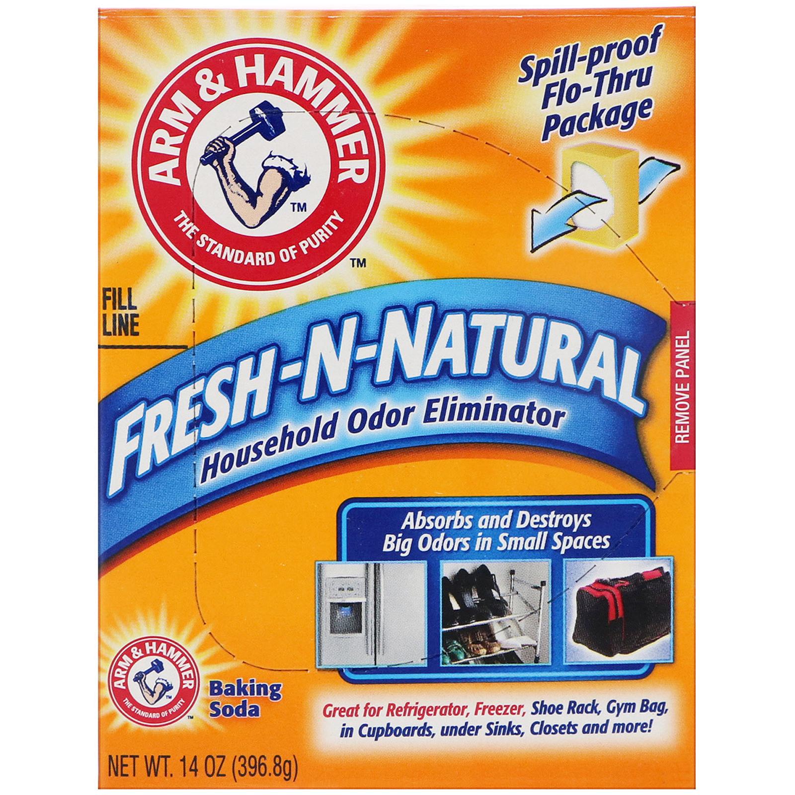 arm hammer fresh n natural household odor eliminator baking soda