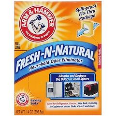 Arm & Hammer, Fresh-n-Natural Household Odor Eliminator Baking Soda, 14 oz (396.8 g)