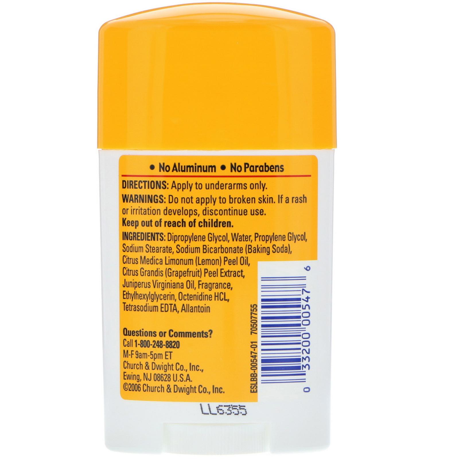Arm & Hammer, Essentials Natural Deodorant, For Men and Women, Clean, 1 0  oz (28 g)