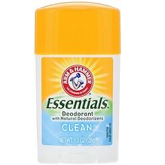 Arm & Hammer, Натуральный дезодорант Essentials, чистый, 28 г