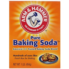 Arm & Hammer, Pure Baking Soda, 1 lb (454 g)