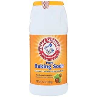 Arm & Hammer, Pure Baking Soda Shaker, Backpulver, 12 oz (340 g)
