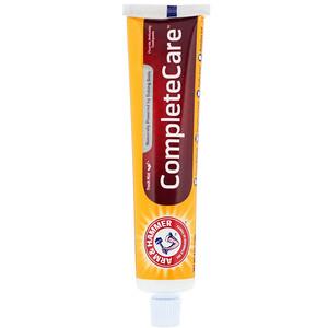 Arm & Hammer, CompleteCare Toothpaste, Fresh Mint, 6.0 oz (170 g) отзывы покупателей