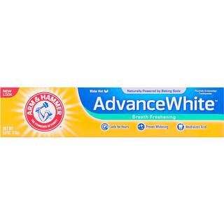 Arm & Hammer, AdvanceWhite, Breath Freshening Toothpaste, Winter Mint, 6.0 oz (170 g)