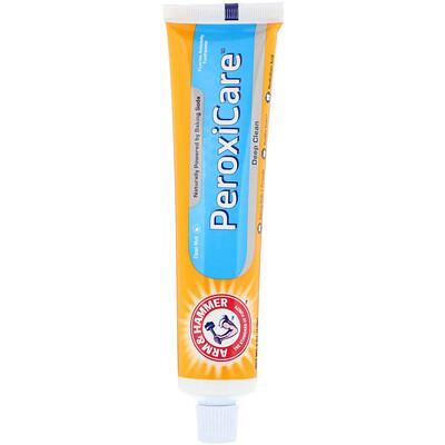 Купить Arm & Hammer PeroxiCare, Deep Clean Toothpaste, Fresh Mint, 6.0 oz (170 g)