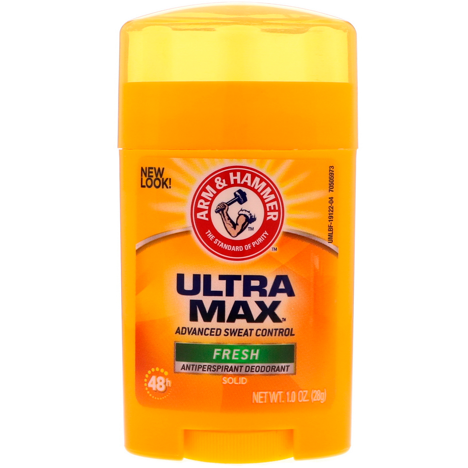 22155773d Arm & Hammer, UltraMax، مزيل رائحة صلب مضاد للعرق، منعش، 1.0 أونصة ...