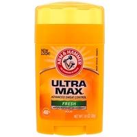 UltraMax, твердый дезодорант-антипреспирант, свежий, 28 г - фото
