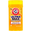 Arm & Hammer, UltraMax, Solid Antiperspirant Deodorant, for Men, Unscented, 2.6 oz (73 g)