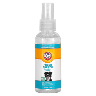 Arm & Hammer, Fresh Breath, Dental Spray For Dogs, Mint, 4 fl oz (118 ml)