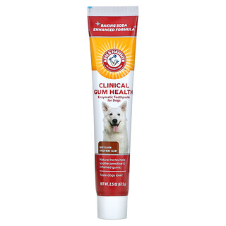 Arm & Hammer, Enzymatic Toothpaste For Dogs, Clinical Gum Health, Beef, 2.5 oz (67.5 g)