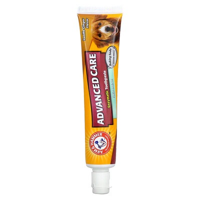 Arm & Hammer Advanced Care, Enzymatic Toothpaste, For Dogs, Vanilla Ginger , 2.5 oz (67.5 g)