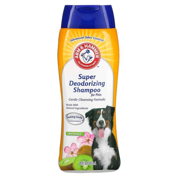 Super Deodorizing Shampoo for Pets, Kiwi Blossom, 20 fl oz (591 ml)