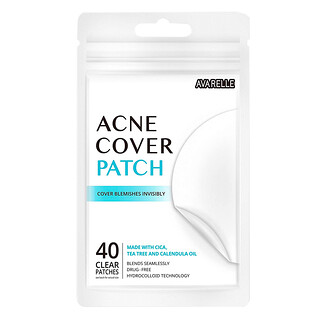 Avarelle, Acne Cover Patch, 40 Clear Patches