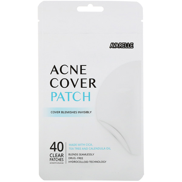 Avarelle, Acne Cover Patch, 40 Individual Patches