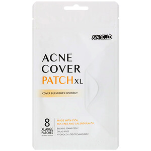 Avarelle, Acne Cover Patch XL, 8 XLarge Patches отзывы