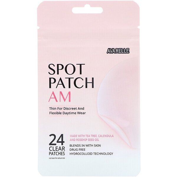 Spot Patch AM، 24 رقعة شفافة