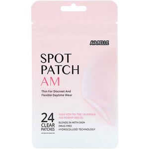 Avarelle, Spot Patch AM, 24 Clear Patches отзывы