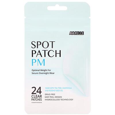 Avarelle Spot Patch PM, 24 Clear Patches
