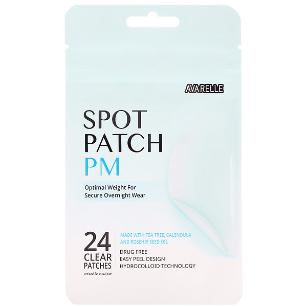 Avarelle, Spot Patch PM,  24 Clear Patches