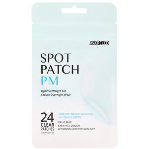 Avarelle, Spot Patch PM,  24 Clear Patches отзывы