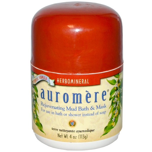 Auromere, Rejuvenating Mud Bath & Mask, 4 oz (113g) (Discontinued Item)