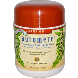 Auromere, Rejuvenating Mud Bath & Mask, 16 oz (454 g)