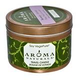 Отзывы о Aroma Naturals, Soy VegePure, свеча для поездок, спокойствие, иланг-иланг и лаванда, 2,8 унции (79,38 г)