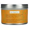 Aroma Naturals, Soy VegePure, Travel Tin Candle, Clarity, Orange & Cedar, 2.8 oz (79.38 g)
