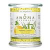 Aroma Naturals, Soy VegePure, vela de aceite esencial de soja 100% natural, Ambiente, naranja y hierba limón, 8.8 oz (260 g)