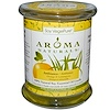 Aroma Naturals, Soy VegePure, 100% Natural Soy Essential Oil Candle, Ambiance, Orange & Lemongrass, 8.8 oz (260 g)
