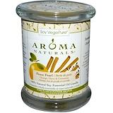 Отзывы о Aroma Naturals, 100% натуральная соевая свеча с эфирными маслами, Peace Pearl, апельсин, гвоздика и корица, 260 г (8,8 унций)