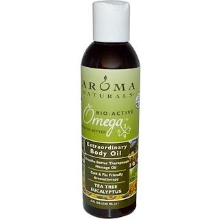 Aroma Naturals, Extraordinary Body Oil, Tea Tree Eucalyptus, 6 fl oz (180 ml)