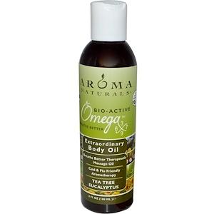 Арома Натуралс, Extraordinary Body Oil, Tea Tree Eucalyptus, 6 fl oz (180 ml) отзывы