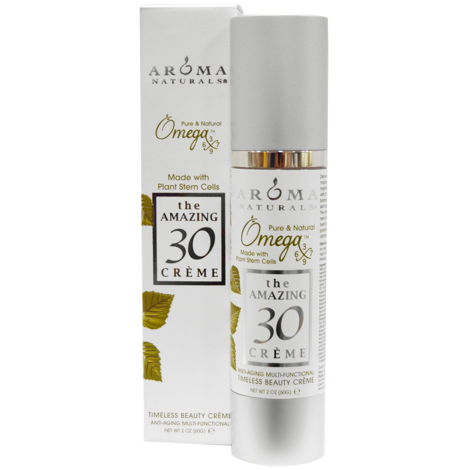 Aroma Naturals, the AMAZING 30, Creme, 2 oz