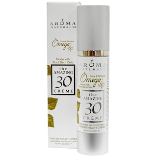 Aroma Naturals, The Amazing 30 Cream, Anti-Aging Multi-Functional, 2 oz (60 g)