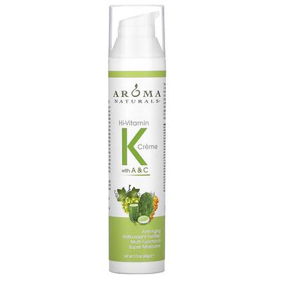 Aroma Naturals Удивительный крем с витаминами K, A & C 3.3 унции (94 г)