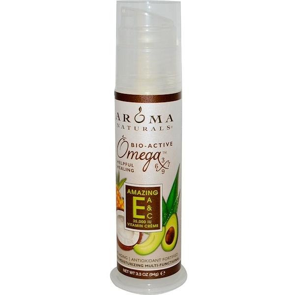 Aroma Naturals, Amazing E, A & C Vitamin Crème, 35,000 IU, 3.3 oz (94 g) (Discontinued Item)