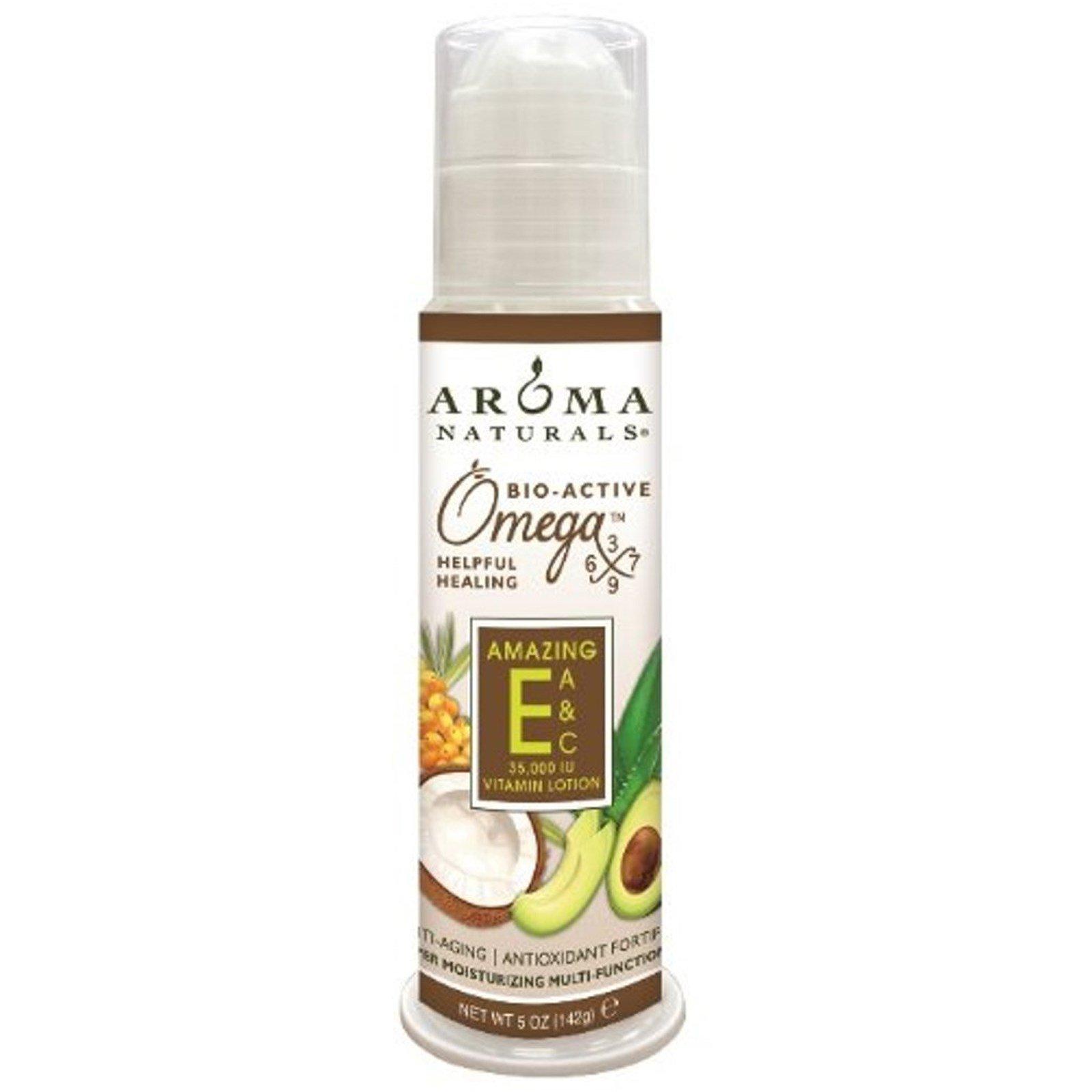 Aroma Naturals, Лосьон с витамином Е, Amazing, обогащен витаминами A и C, 5 унций (142 г)