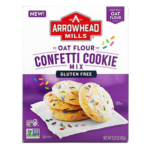 Arrowhead Mills, Oat Flour Confetti Cookie Mix, 15.25 oz (432 g)