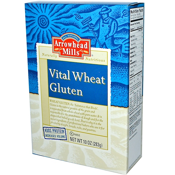 Arrowhead Mills, Vital Wheat Gluten, 10 oz (283 g)