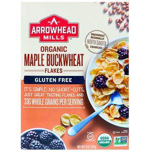 Эрроухэд Миллс, Organic Maple Buckwheat Flakes, Gluten Free, 10 oz (283 g) отзывы