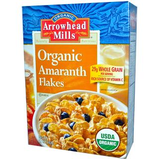 Arrowhead Mills, Organic Amaranth Flakes, 12 oz (340 g)