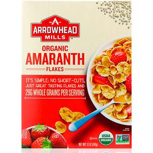 Эрроухэд Миллс, Organic Amaranth Flakes, 12 oz (340 g) отзывы покупателей