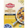 Arrowhead Mills, Sans Gluten Biologique, Flocons de Maïs Germés, 10 oz (283 g)