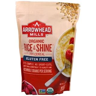 Arrowhead Mills, Whole Grain, Organic Rice & Shine, Hot Cereal, 24 oz (680 g)