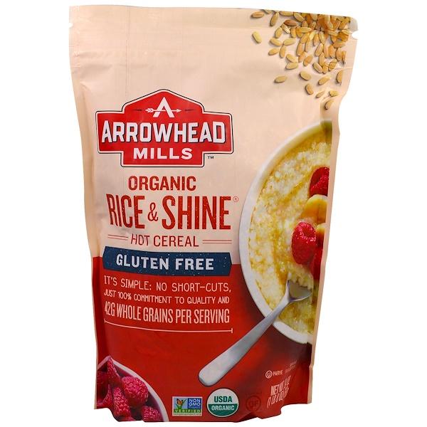 Arrowhead Mills, 全穀物有機熱麥片粥, 24 oz (680 g)