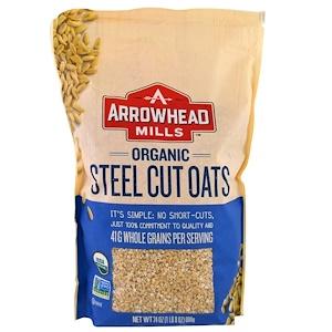 Эрроухэд Миллс, Organic Steel Cut Oats, Hot Cereal, 1.5 lbs (680 g) отзывы